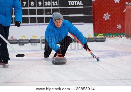 Curling Player Kirill Savenkov