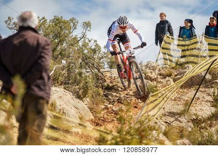 International MTB competition in Chelva, Valencia, Spain