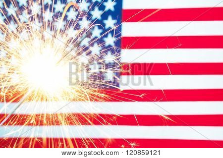 4 Of July Concept