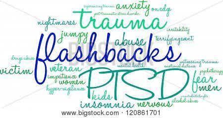 Flashbacks Word Cloud