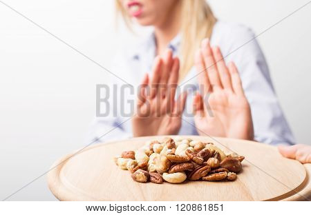 Nut allergies