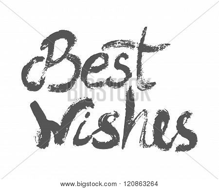 Best Wishes - Perfect Design Element