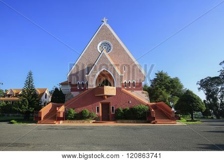 Domaine de Marie church, Da Lat City, Lam Dong Province, Vietnam