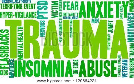 Trauma Word Cloud