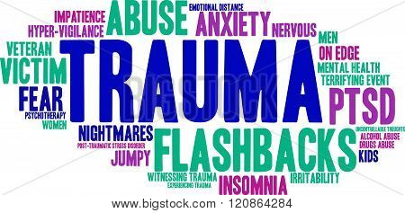 Trauma Word Cloud