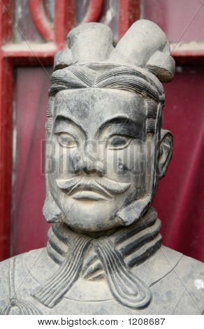 Antique Chinese Terracota Warrior