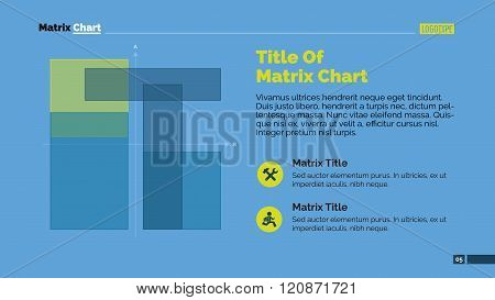 Matrix Chart Presentation Slide Template
