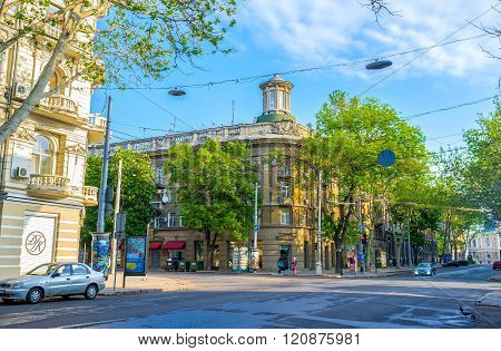 Odessa In The Morning