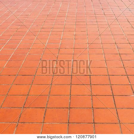 Grunge Floor Tiles And Square Shape Texture And Background