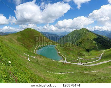 Riezler Alpsee in the Allgau Alps