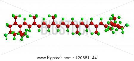 Molecular Structure Lutein