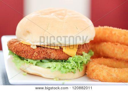 Gourmet Chicken Fillet Burger