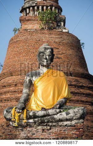 Asia Thailand Ayuthaya Historical Park