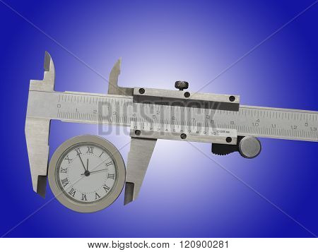 Measurement Of Watches With A Caliper