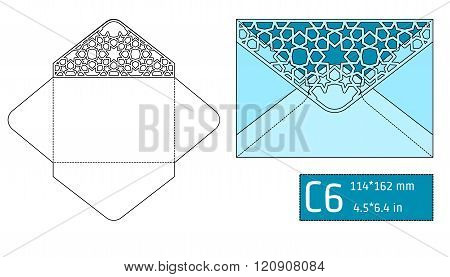 Lase Envelope Template A
