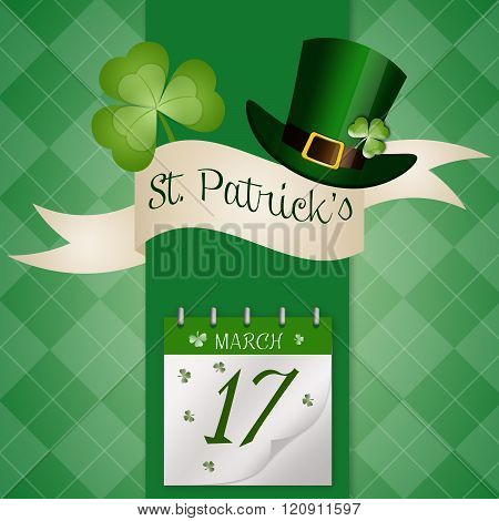 Calendar For St. Patrick's Day