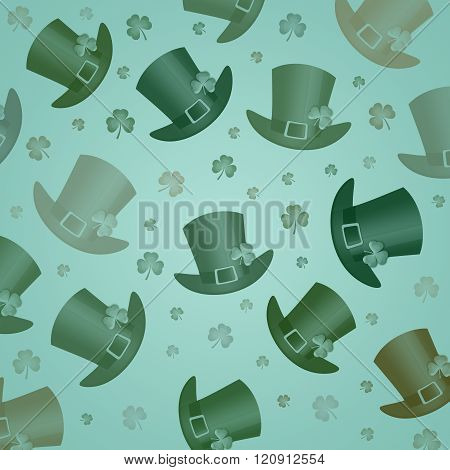green hat for St. Patrick Day