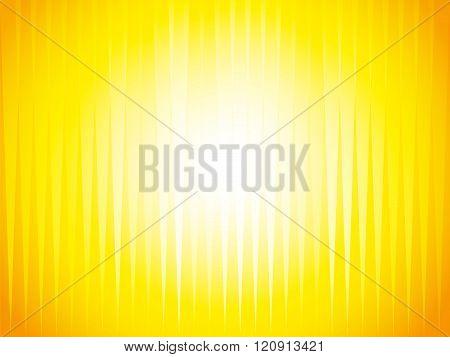 Sharp Orange Yellow Rays Background