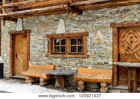 Zermatt Old Buildings