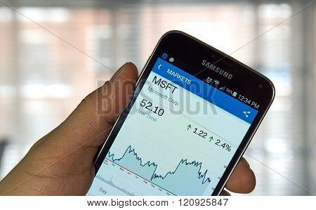 Msft - Microsoft Stock.