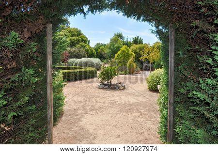 Hedge Maze Exit