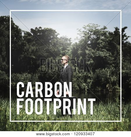 Carbon Footprint Environment Climate Concept