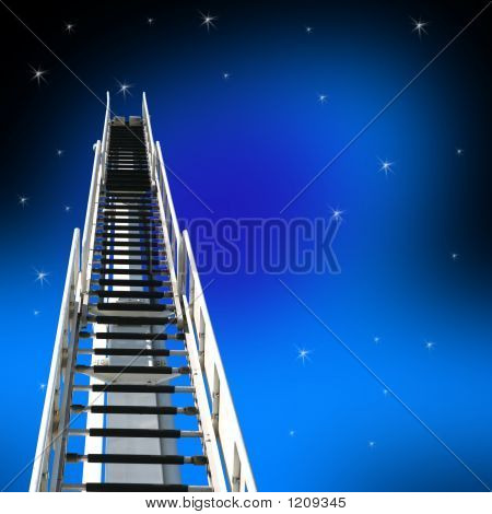 Ladder Up To Sky