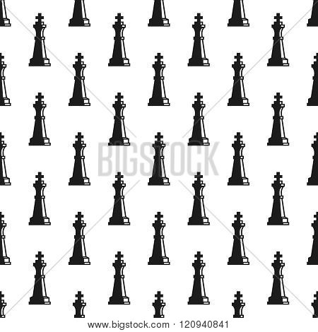 Queen seamless pattern