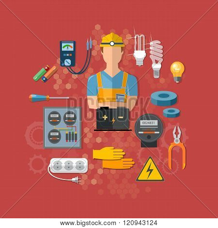 Professional Electrical Tools Electrician