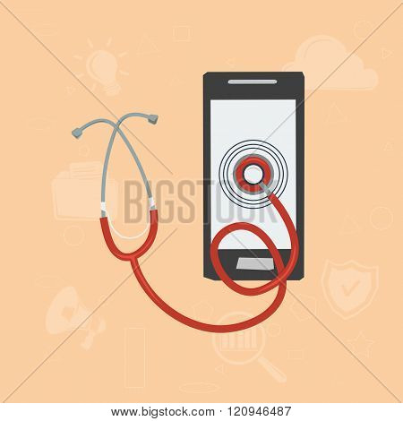 Mobile Doctor Concept