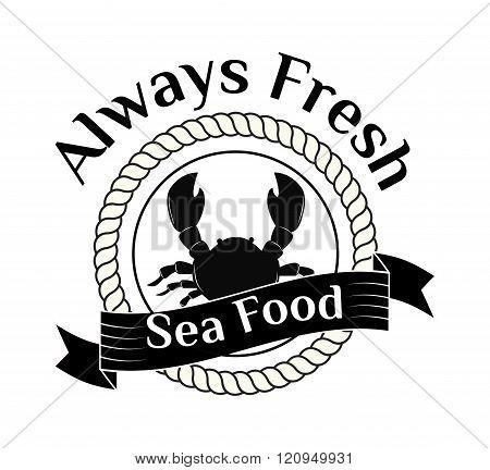 Asian food logo vector illustration