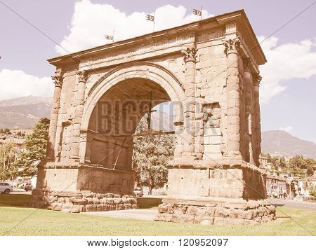 Arch Of August Aosta Vintage