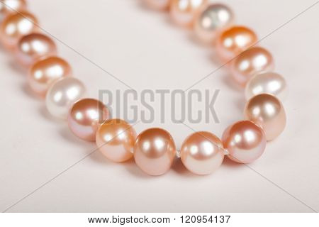 Pink Necklace, Pink Pearls