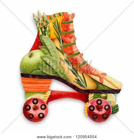Veggie Skates.