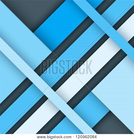 Material Design Background. Modern Colorful Vector Background, Trendy Geometrical Template. Abstract