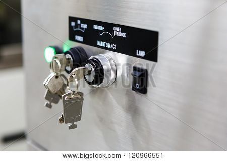 Key Lockfor Stop Start Machine