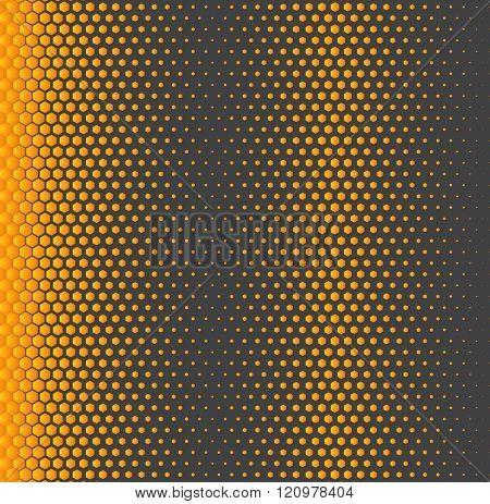Honeycomb background gradient