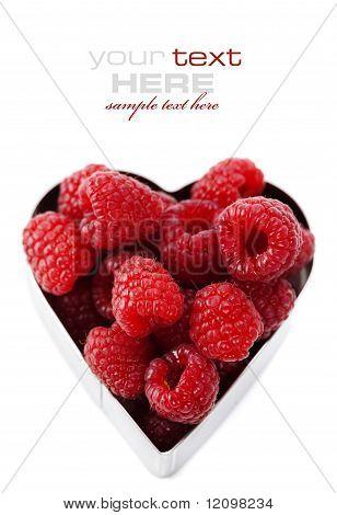 Fresh Raspberries (valentines Day Image)