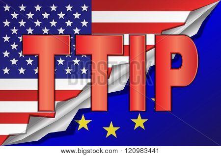 TTIP - Transatlantic Trade and Investment Partnership.