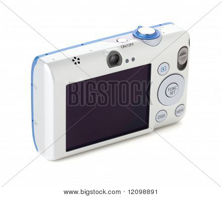 Digital Camera Rear View