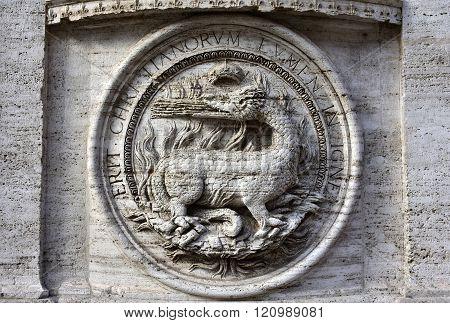 Royal Salamander, Symbol Of King Francis I Of France