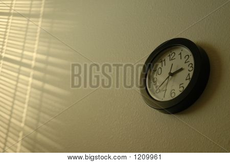 Clock And Shadow