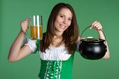 pic of saint patricks day  - Saint Patricks Day Woman - JPG