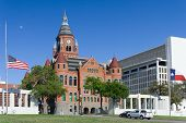 Old Red Museum, Formerly Dallas County Courthouse At Dealey Plaza, In Dallas,  Texas poster