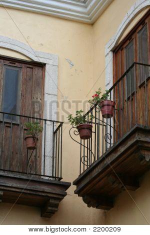Quaint Balcony