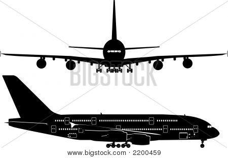 Avión de pasajeros