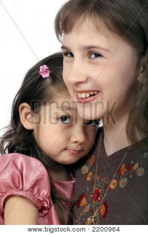 Two Girls Laughter And Insult
