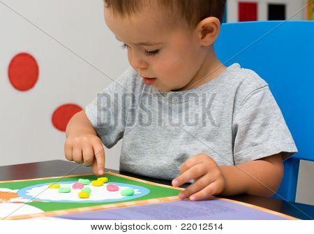 Boy And Plasticine