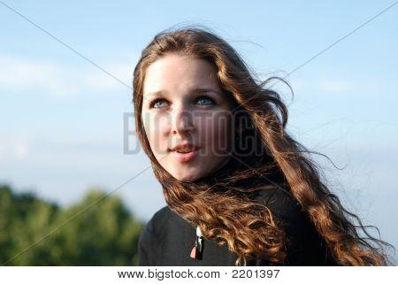 junges Mädchen