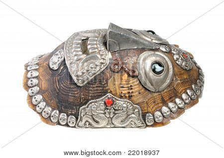 Illegal Souvenir - Mask Made Of Tortoise Turtle Carapace